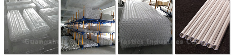 hot sales thickness plastic clear large diameter polycarbonate tube