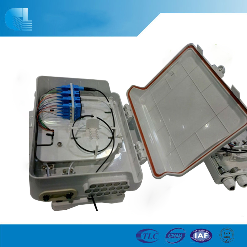 Telecommunication Equioment 12 Core Optic Fiber Terminal Box