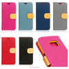 New Business Wallet Stand Design PU Leather Case Cover For Samsung Galaxy S5 S4 S3 NOTE 4 NOTE 3 With Card Holders Flip Cover