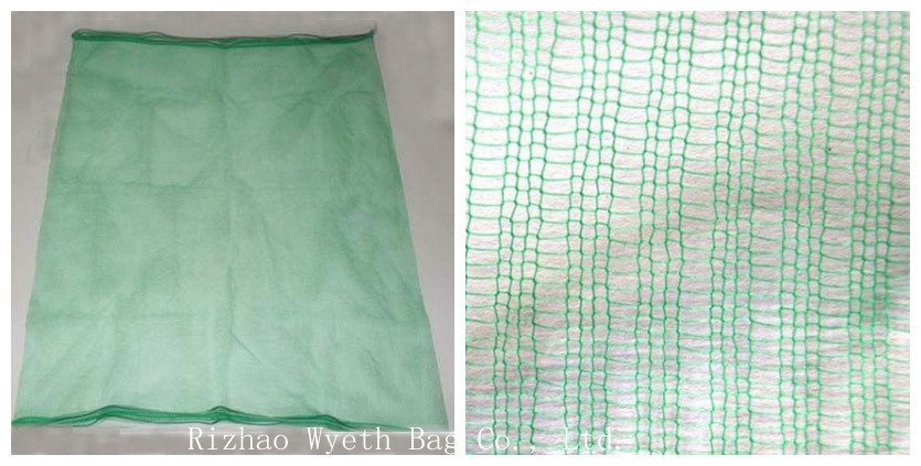 80*100cm plastic drawstring Collect and Protect Date Plam Mesh Bags to Middle East
