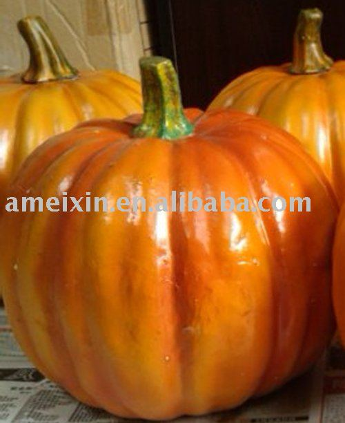 Plastic Hallowmas decoration pumpkin