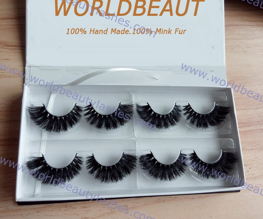 2015 Customed luxury Horse Hair with private label box