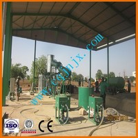 JNC-3 Used Motor Oil Recovery System through catalyst distillation to diesel fuel