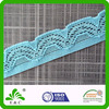 SGS Oeko-Tex100 knitted crochet lace as underwear webbing or lingerie elastic
