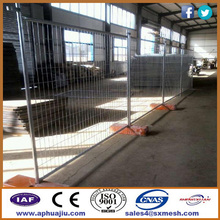 Retractable Temporary Fence / Construction Removable Fence /