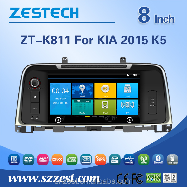 2015 touch screen car dvd gps for kia k5 optima dashboard placement with gps navigation stereo radio entertainment
