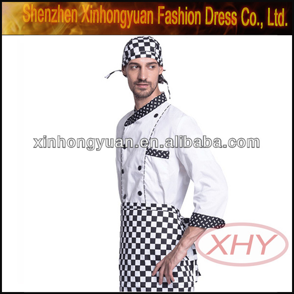 Costume chef cook uniform garment