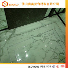 10mm Stone Material and 25mm Aluminum honeycomb marble veneer wall panel