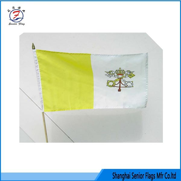 item 2017-065 hand held flags to buy by custom