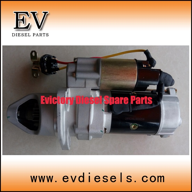 generator alternator 6D40 6D40T starter motor ( used on MITSUBISHI diesels)