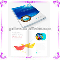 2015 Guangzhou liran wholesale high quality exquisite fancy brochure design picture album&magazine printing