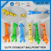 Promotional Animal Cute Cats&Dogs Pet Ballpoint Pen,Multicolor Novelty Plastic Pen For Kids