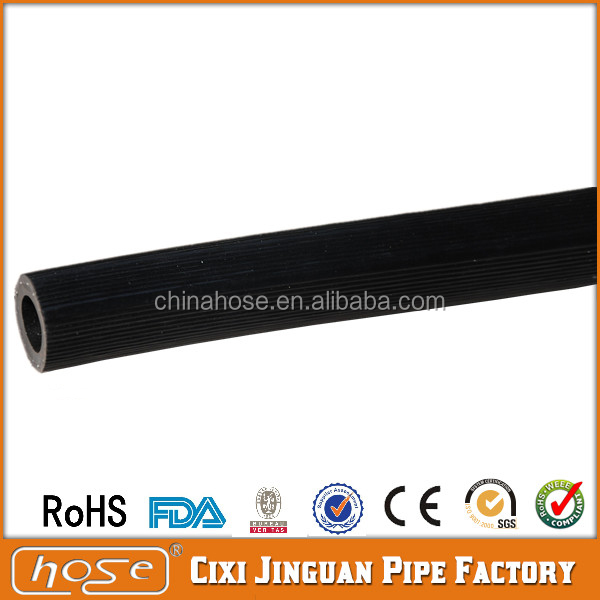 JG 8mm Black Flexible Braided PVC LPG Gas Hoses,China Plastic Soft PVC Natural Gas Cooking Hose Pipe