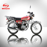 Air cooled motorcycle from china /Good quility motorbikes(WJ125-C)
