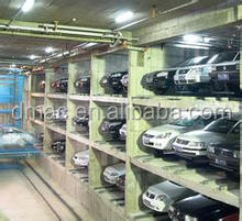 multilayers mechanical lift slide car parking system