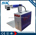 Plastic photo printing 20w fiber laser marking machine for metal copper gold wood glass laser engraver