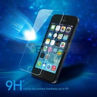 High Quality 9H 0.26mm Tempered Glass Screen Protector for Apple iPhone 5S