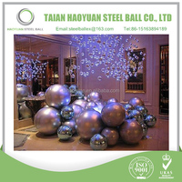 Supply 19mm-9000mm Colorful Christmas decoration ball /stainless steel hollow ball With high quality