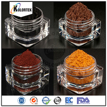 Mineral Iron Oxide Pigment Powder In Jars, Multi colored Iron Oxide Wholesale