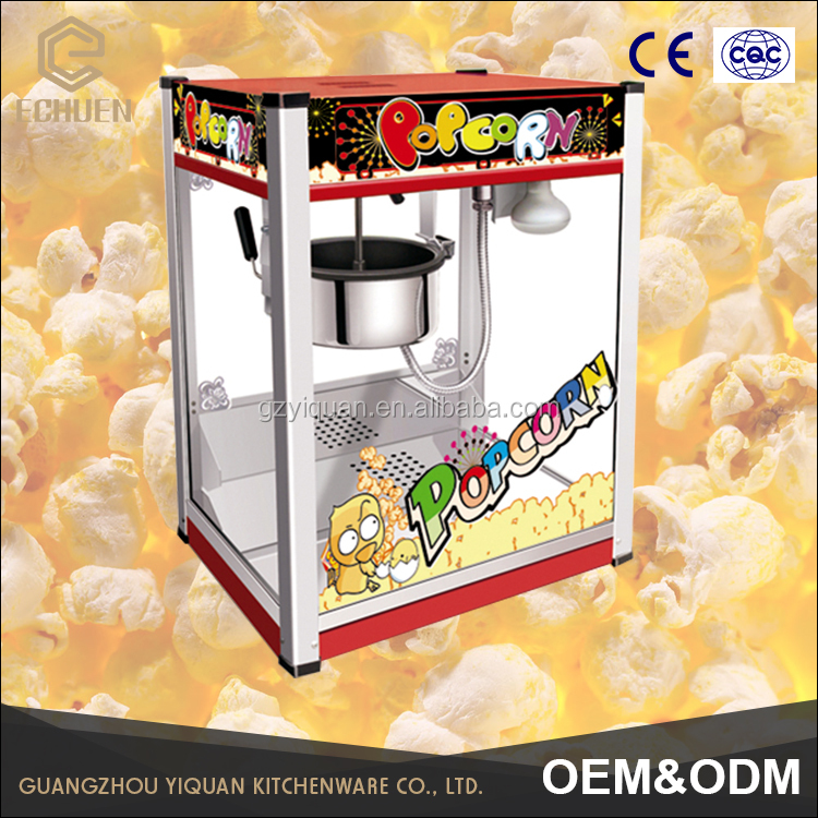 mini sweet popcorn machine price | hot selling popcorn machine