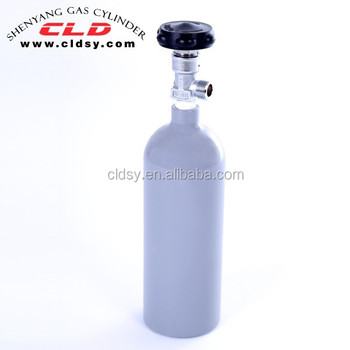 beverage gas Cylinder of aluminium 6061, 2015 model