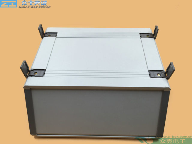 AB-7 / 130*320*300mm custom metal shell Control Box Medical Instrument Aluminium Chassis