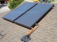CE standard flat plate solar collector for solar water heater