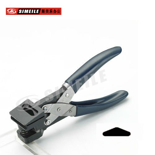 A-104 triangle shape one hole punch pliers custom shape hole puncher