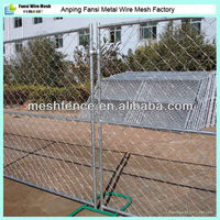 Temporary chain link fence garden
