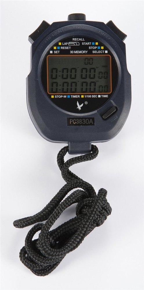 F14946 прыжок PC3830A профессиональный секундомер большой экран цифровой LCD таймер хронограф счетчик с 3 ряда(ов) 30 воспоминан