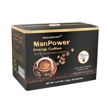 Natural and Healthy Male Enhancement Black Maca Coffee