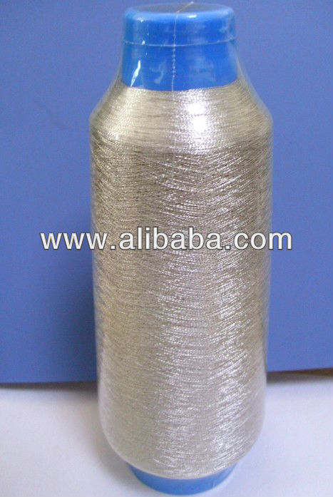 MADE IN CHINA M MX MS ST TYPE PURE GOLD AND PURE SILVER METALLIC YARN FOR EMBROIDERY KNITTING AND WEAVING