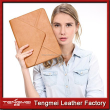 "Envelope Leather Bag For Macbook 13"" laptop With Retina,For Leather Macbook Case,For Macbook Pro/Air Leather Bag"