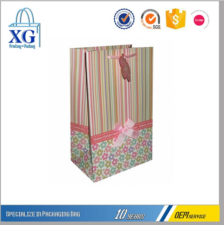New products multicolored shopping bags with logos from manufacturer