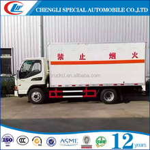 High quality china manufacturer Mini LPG gas cylinder transport truck