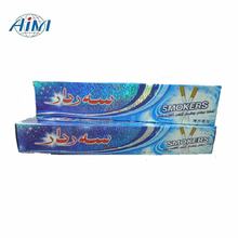 High quality herbal flavor stain removing whitening dentist toothpaste