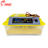 Watch Hatching Process CE Mark Automatic Cheap Mini Egg Incubator For Sale HHD