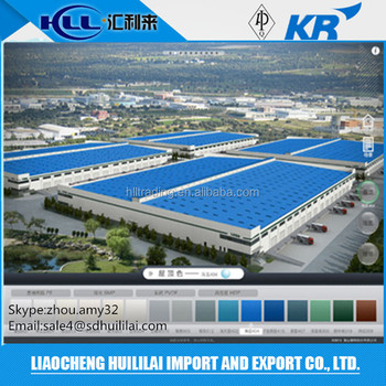 HLL Color Coated Steel Coils PPGI for Roofing Building Supply any RAL Color