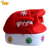 festival omament dancing father Christmas hats santa