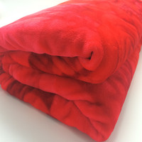 coral flannel wedding polar fleece wool super soft blanket