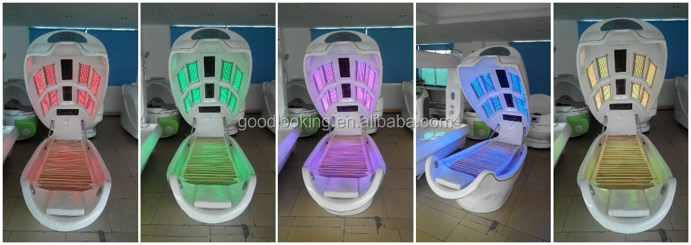 2016 top selling lying phototherapy ozone space capsule
