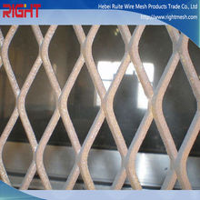 Quality Premium Hexagonal Flatten Aluminum Expanded Mesh For Stairs