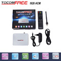 2017 Single tuner Tocomfree I928ACM with free IKS satellite TV receiver support ACM + usb wifi+ iptv ready for Latin America