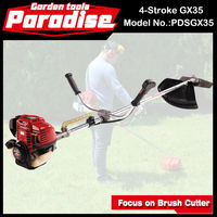 Garden Machinery Tools Tree Cutting Machine GX35 Brush Cutter Price