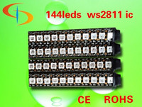 High quality IP66 rgb waterproof DC5V IC built-in digital led WS2812 led strip