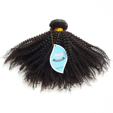 Afro kinky curl human virgin remy hair extensions crochet weave double drawn brazilian hairs afro kinky hair for braiding