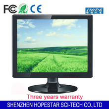 Desktop computer monitor Square Screen 17 inch lcd display