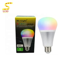 AC86-265V 9W E27 Milight 2.4G Wireless <strong>RGB</strong> RGBW <strong>RGB</strong>+CCT WiFi Smart LED Bulb Light Dimmable
