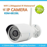 Best price 1.3Megapixels IR Waterproof CMOS Camera with Onvif and P2P China manufacture