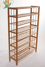 Simple design bamboo shoe rack